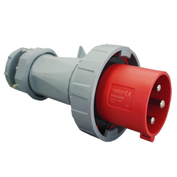IP67 Plug 3 Pin 400V 63A