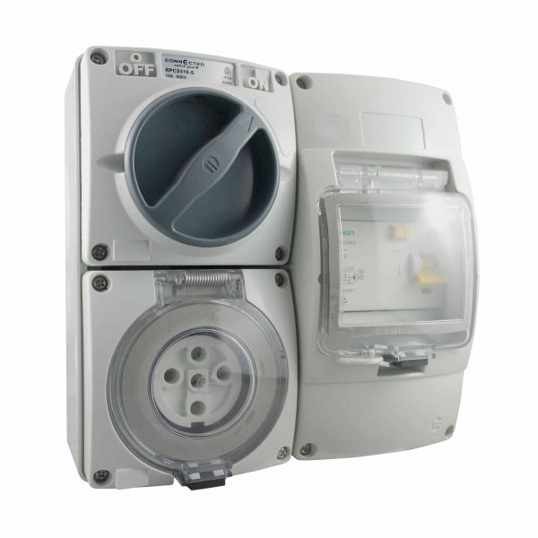 RCD Protected Outlet