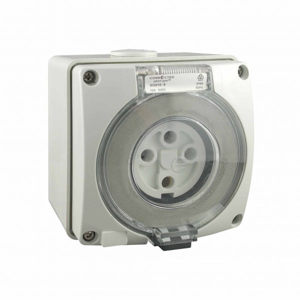 Socket Outlet 4 Pin 50A 500V AC